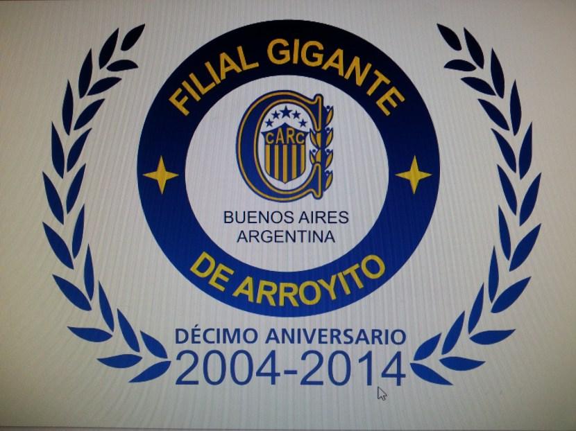 Nuevo logo Rosario Central